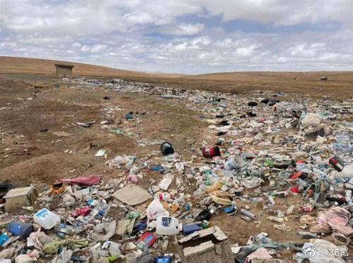 【青藏高原可可西里地区再现巨大垃圾带,是谁污染了中国第一国家公园?】