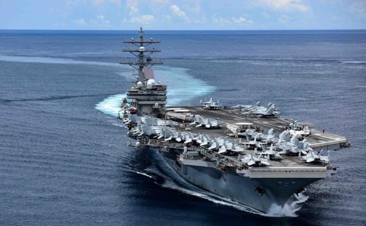 美军里根号航母已经进入印度洋,还有一个新动态值得警惕
