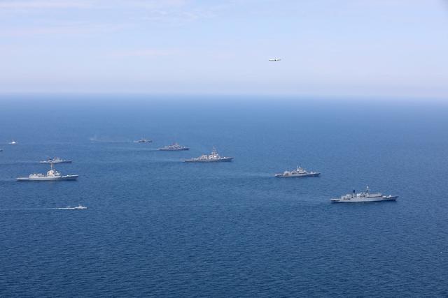 美国影响力下降,拉拢32国参加军演,韩国