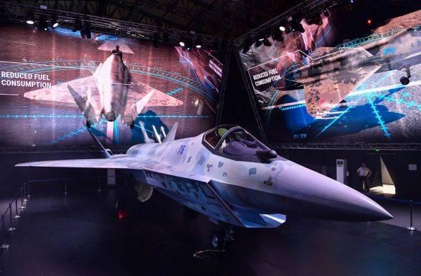 俄新款隐身战机亮相 印度等国或成潜在客户