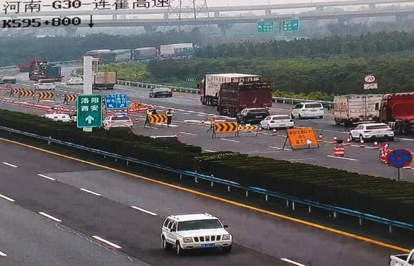 即日起连霍高速巩义段7座及以下小型客车恢复通行 7座以上客车及货车绕行路线看这里