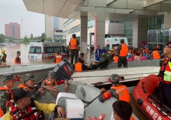 郑州一医院被洪水围困断水断电,获投8台共享充电设备