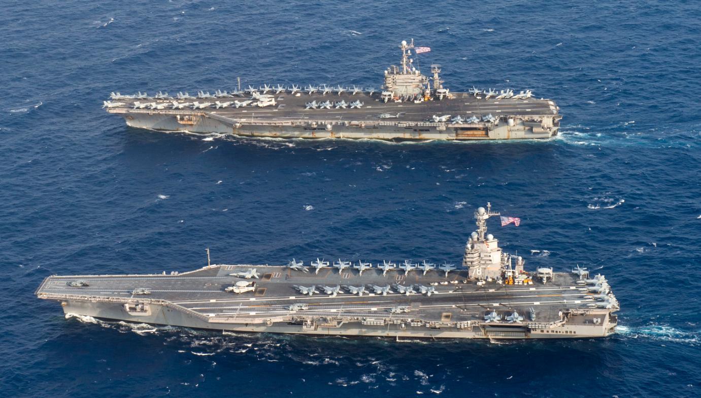 为对抗中国,美军犯下大错?新航母使用20项技术,后果无