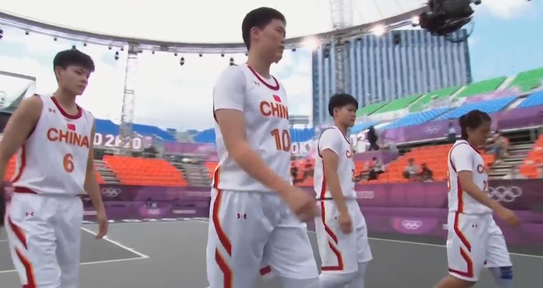 奥运三人女篮-中国21-9蒙古 5胜2负小组第2出线