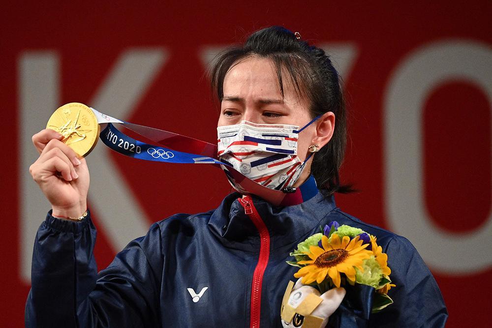 中国台北女选手郭婞淳:被自己气哭的奥运冠军