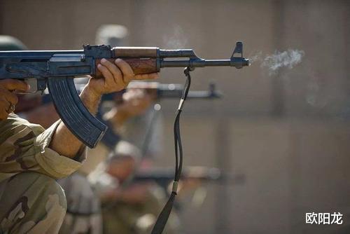 阿卡47(AK一47)在叙利亚战争中的真实战力展示
