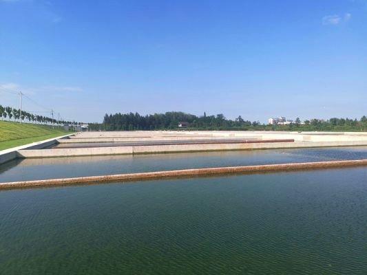 安徽天长污水处理厂尾水利用项目验收,系滁州市政重