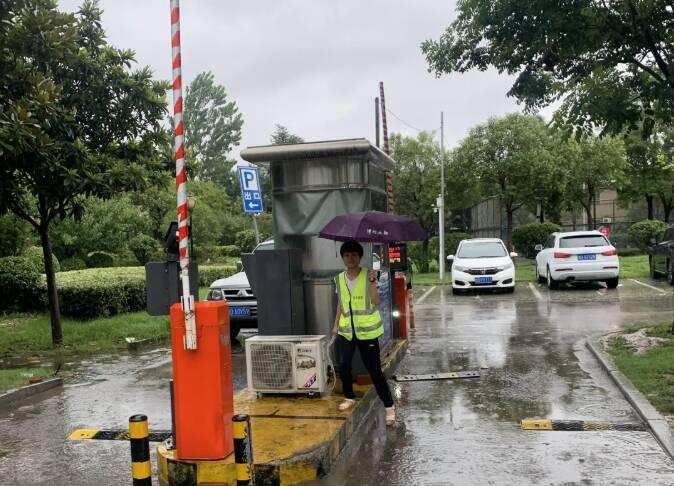 台风来袭,滕州部分公共车位实行免费停放