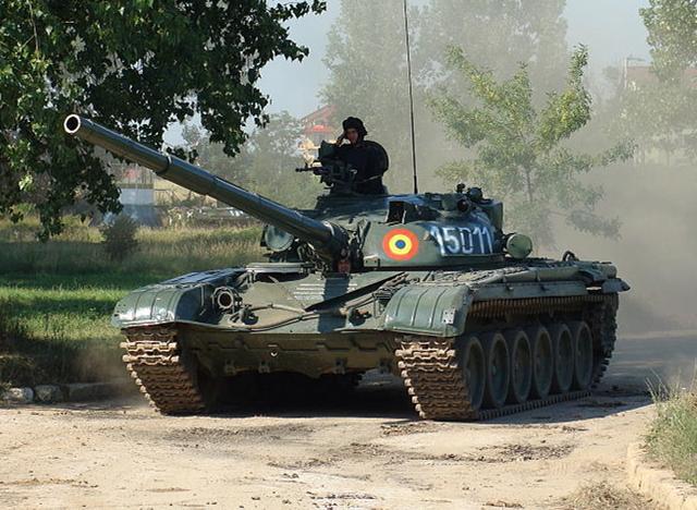罗马尼亚TR-125主战坦克,买卖不成就自己仿制