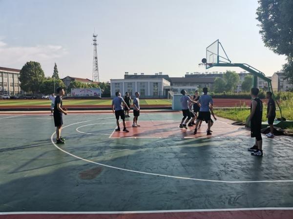 """宣州沈村镇举办""""八一""""篮球友谊赛"""