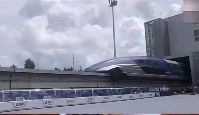 这才是中国速度!时速600公里高速磁悬浮列车青岛上线,地表最快