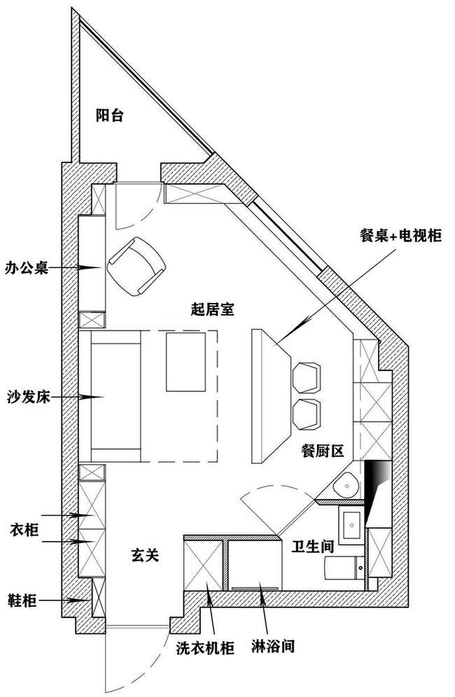 """35岁女记者买下27㎡""""奇葩""""公寓,设计师合理设计,越住越舒适"""