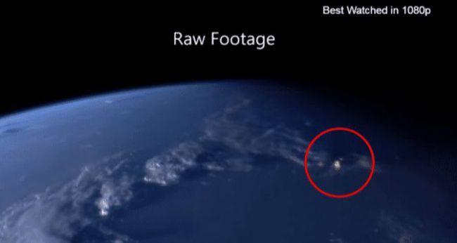 夏延山UFO事件,不明飞行物秒速冲向地球后折返,人类