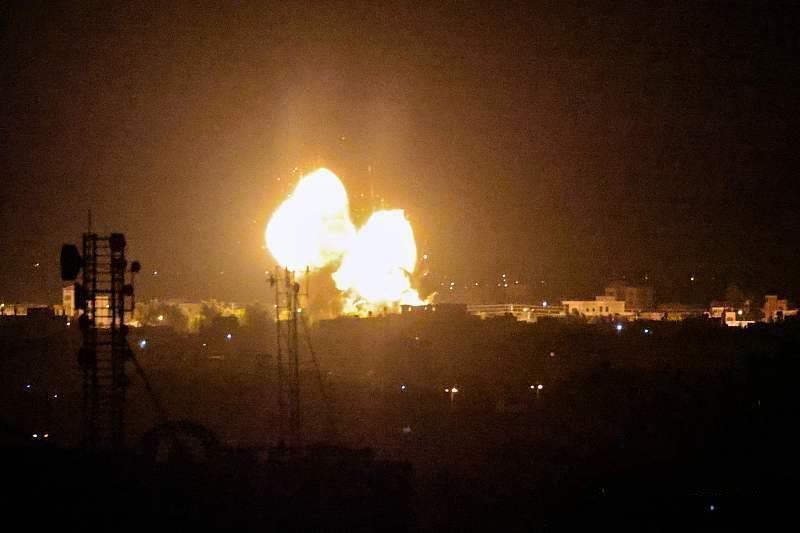 中东再起战火?以色列遭火箭弹袭击,随后报复性空袭哈