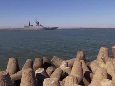 """俄波罗的海舰队15艘舰艇出海参加""""西方-2021""""演习"""