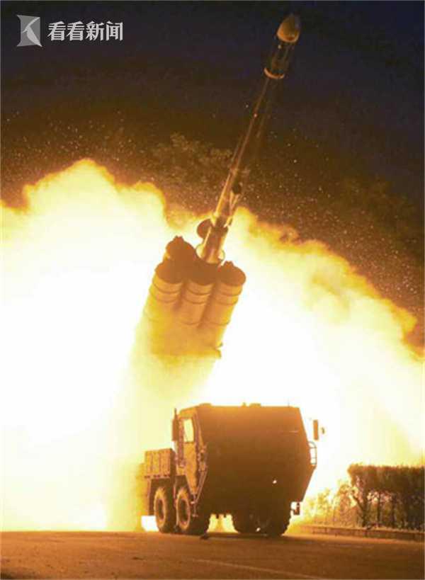 突如其来 朝鲜成功试射巡航导弹