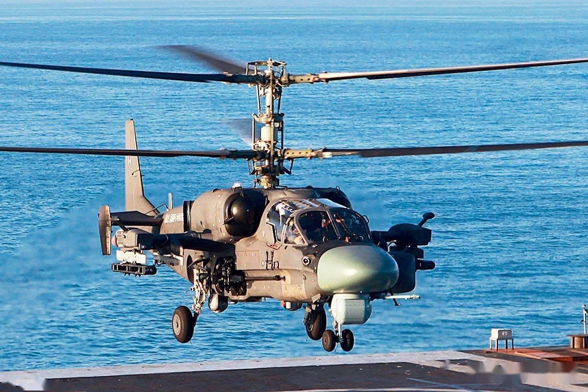 讲武谈兵|中国需要俄制卡-52K舰载武装直升机吗?