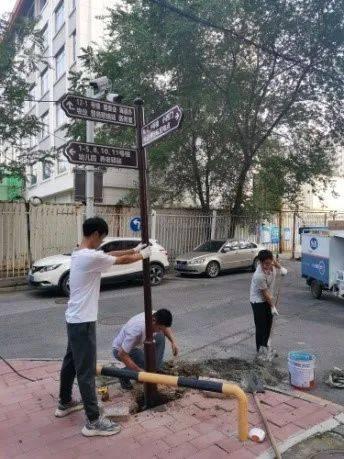 安装路标、化解扰民纠纷……学院路街道各社区用心