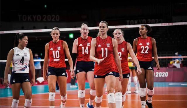 美国女排实至名归 连续4届奥运会最差的都是第三名