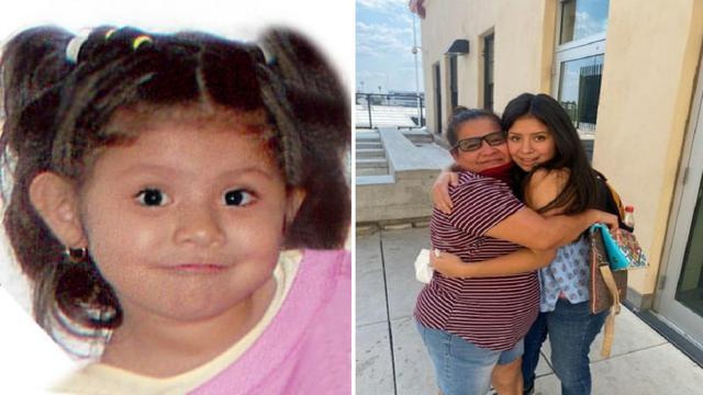 美国母亲的女儿六岁时被绑架,十四年后女儿发信息来
