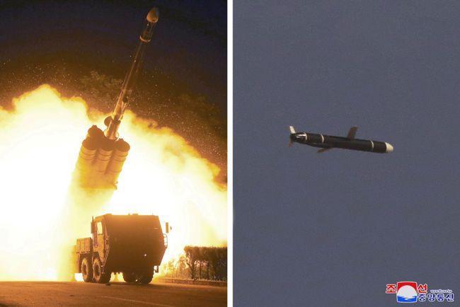 导弹划破天际,朝鲜半岛重新热闹起来