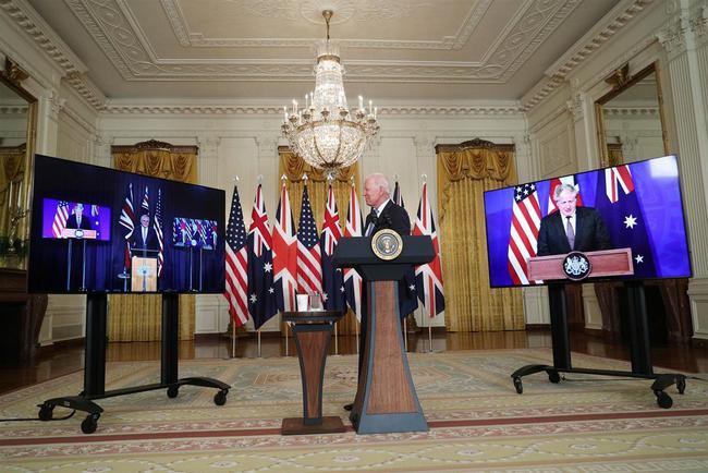 英美澳结成军事联盟,澳大利亚将首次拥有核潜艇