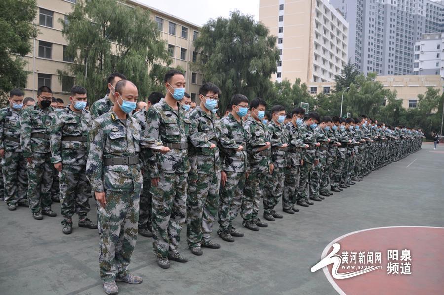 """华阳集团武装部开展""""九一八""""国防教育宣传活动"""