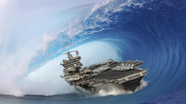 用一枚核弹打击一个航母战斗群,在费用上亏不亏?