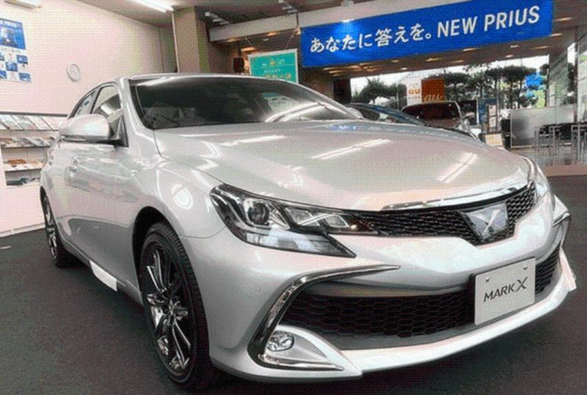 丰田全新一代锐志来了,比亚洲龙漂亮,起步V6后驱,或明年入华