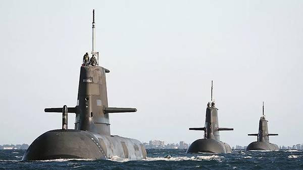 观察 澳大利亚突然转向核潜艇,竭力打造进攻性战力