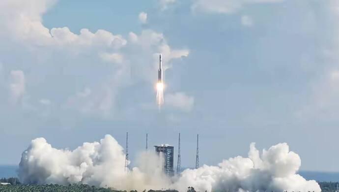 现场直击:文昌发射场迎来建党百年后首次发射,长征七
