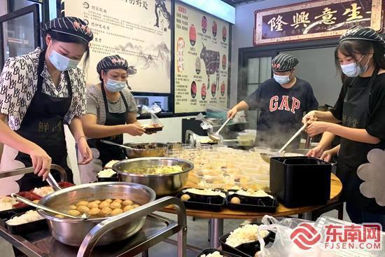 华安经济开发区:爱心餐送往防疫一线
