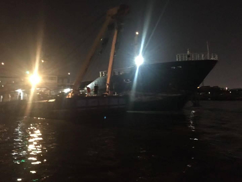 徐汇滨江亲水平台又双叒叕被撞!事故原因查明,拖轮缆绳断裂