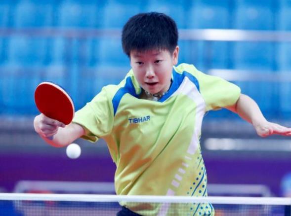 全运会乒乓球女双4强出炉:王曼昱4线打12战全胜,半决赛PK孙颖莎