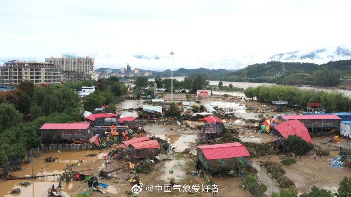 河南南召强降雨亲历者:一夜没休息,村里受灾严重