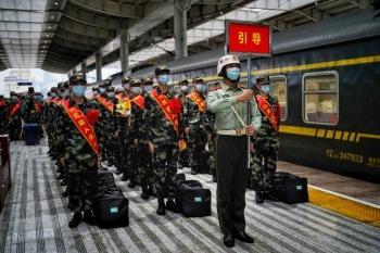 武警陕西总队2021年度秋季新兵入营