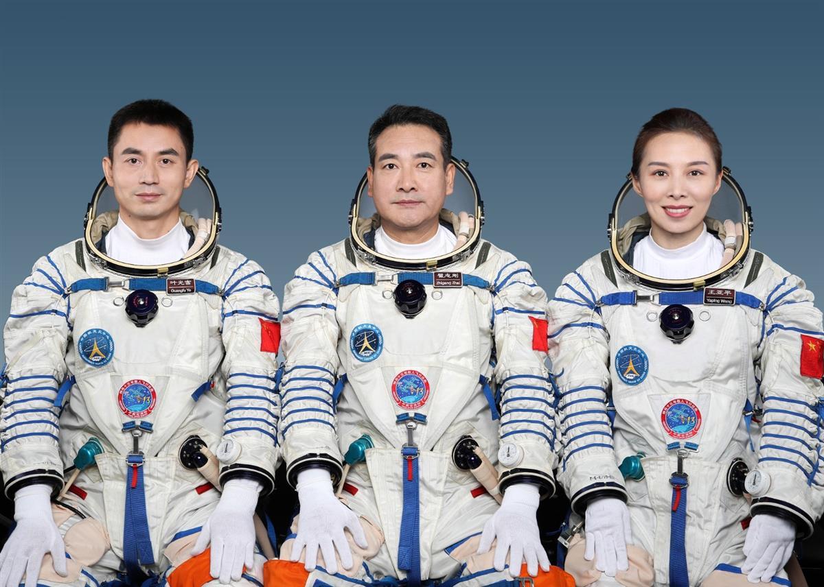 神舟十三号将于16日凌晨发射,3人乘组由航天员翟志刚、王亚平和叶光富组成