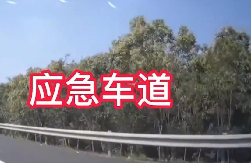 """惊魂一刻!江苏一男子占用高速应急车道,女子""""内急""""横穿被撞飞"""