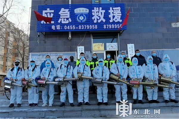 """最美""""战疫""""志愿红 绥化市救援队"""