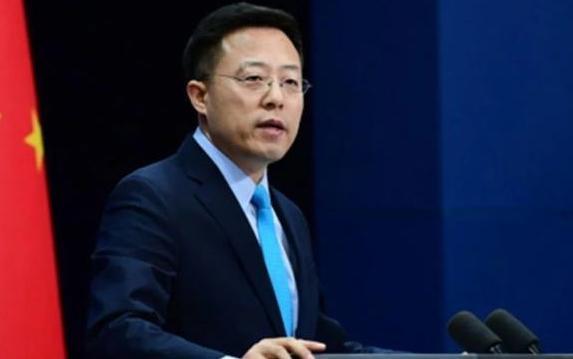 10月16日凌晨神舟十三号载人飞船发射,中国外交部发言人送出祝愿
