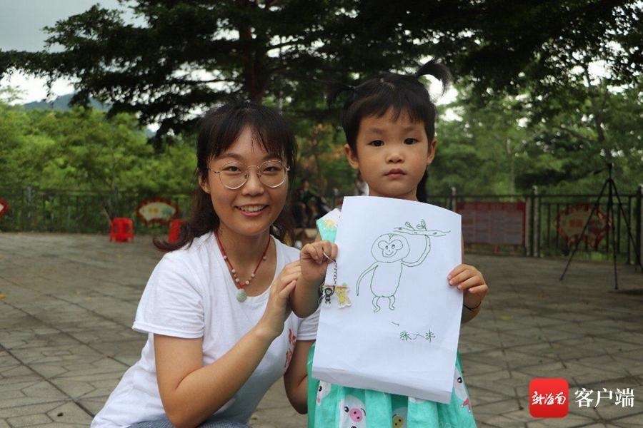 海南大学学生为猿宝宝起名:源源、升升 希望长臂猿数量持续增长