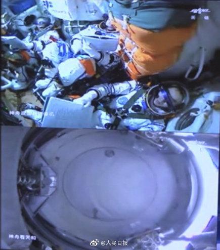 一起见证!载人飞船首次径向停靠空间站