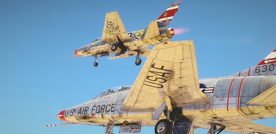 "F-100""超级佩刀""战斗机:超音速喷气战机的真正始"
