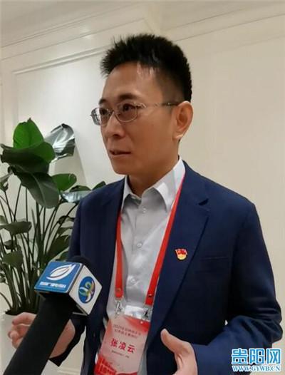 """掌阅科技创始人、总裁张凌云:""""我很期待在贵州多做一些贡献"""""""