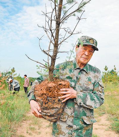 200万棵树!黄土地上绿意浓