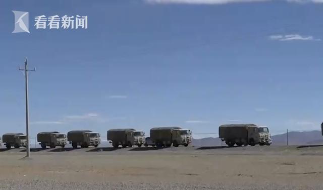 视频|瞄准实战!西藏军区某旅千里机动至4800米高原