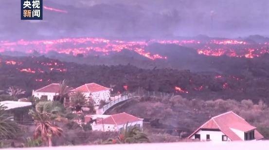 已吞噬约800公顷土地!西班牙火山喷发仍在持续