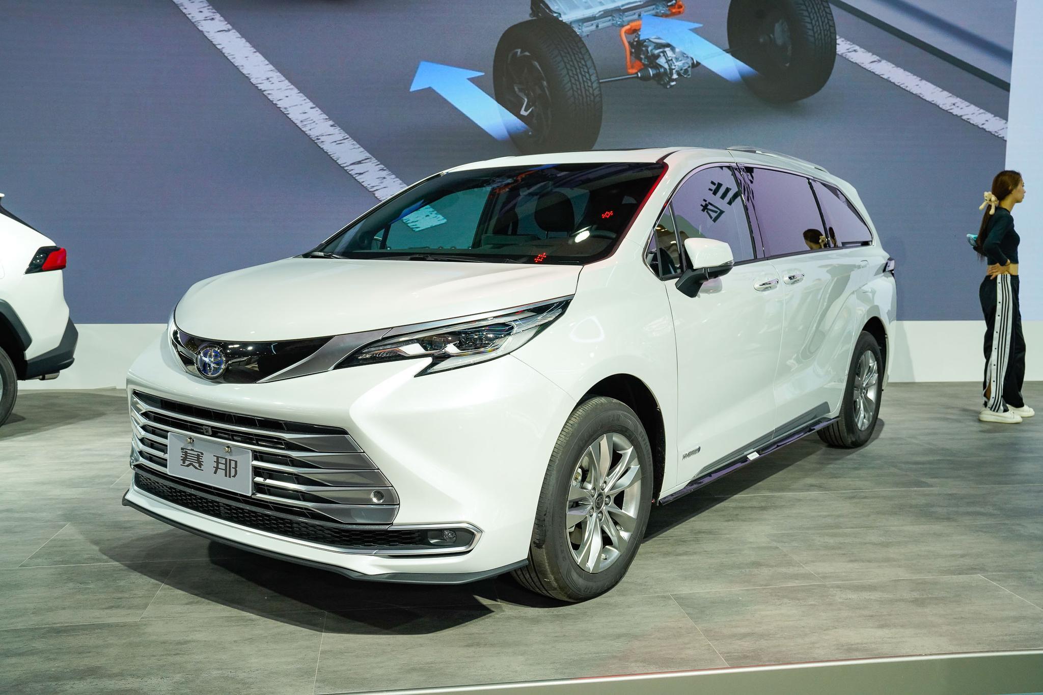 预售32万元起 广汽丰田赛那将于10月30日上市 2.5L
