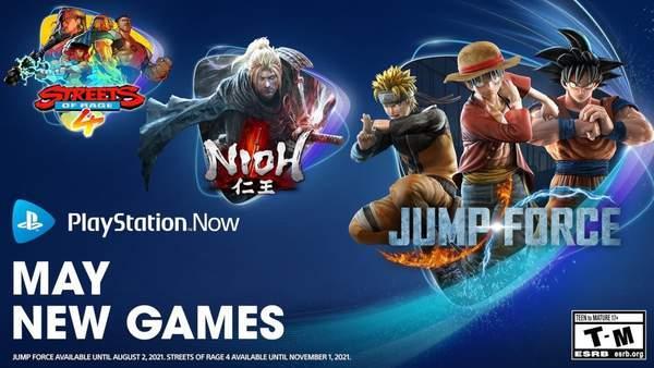 PS Now五月新增游戏阵容:《Jump大乱斗》等三款游戏