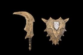 《怪物猎人:崛起》反复加工骨头所得,洋溢着野性风味的单手剑